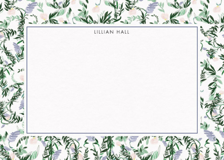 French Floral | Personalised Stationery Set