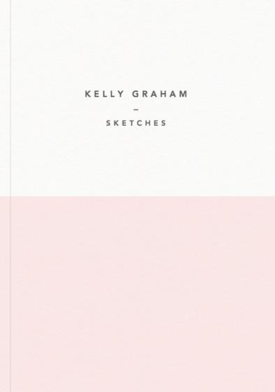 Demi Pink   Personalised Sketchbook