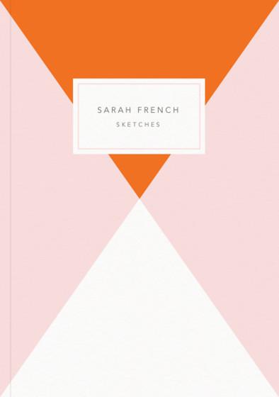 Orange Diamond | Personalised Sketchbook