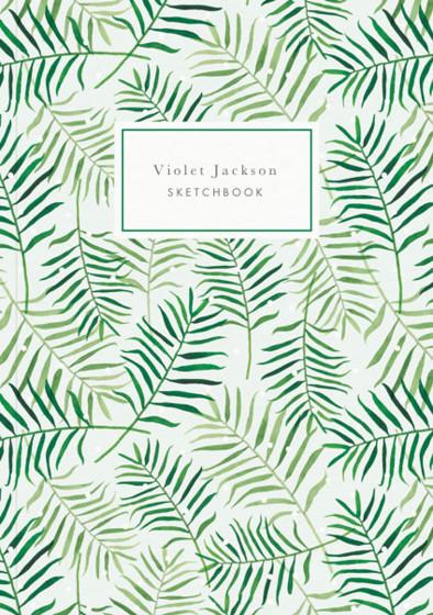 Palm Leaves | Personalised Sketchbook