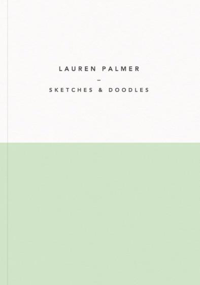 Demi Vert | Personalised Sketchbook