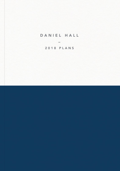 Demi Navy | Personalised 2018 Diary