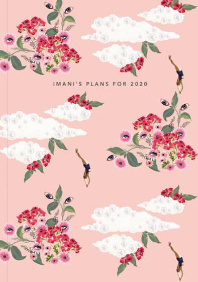 Pink Dreamer | Personalised 2018 Diary