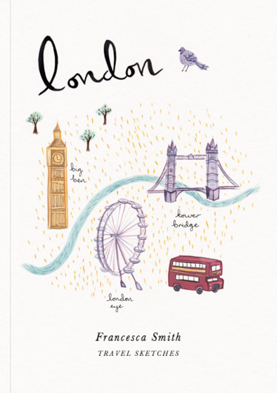 London | Personalised Sketchbook