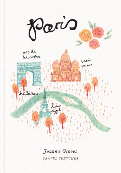 Paris | Personalised Sketchbook