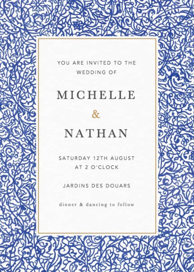 Illumination | Personalised Wedding Invitation