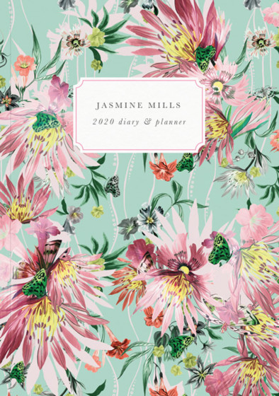 Jungle Bloom | Personalised 2018 Diary