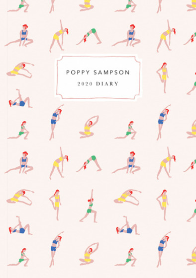 Yoga Ladies | Personalised 2018 Diary