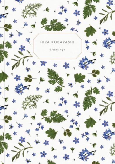 Blue Meadow   Personalised Sketchbook