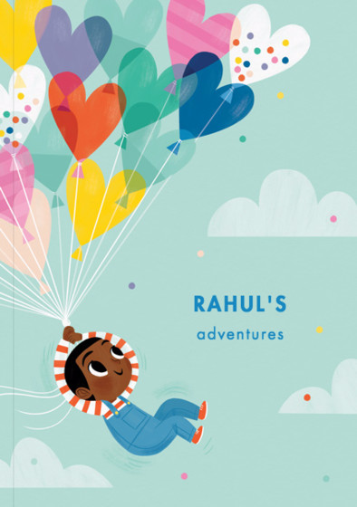 Balloon Boy I | Personalised Lined Notebook