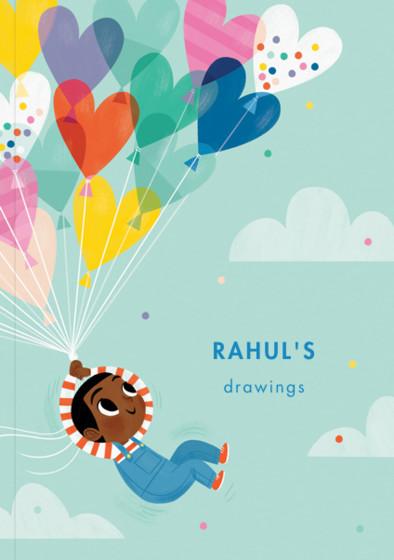 Balloon Boy I | Personalised Sketchbook
