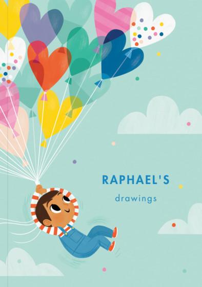 Balloon Boy II | Personalised Sketchbook
