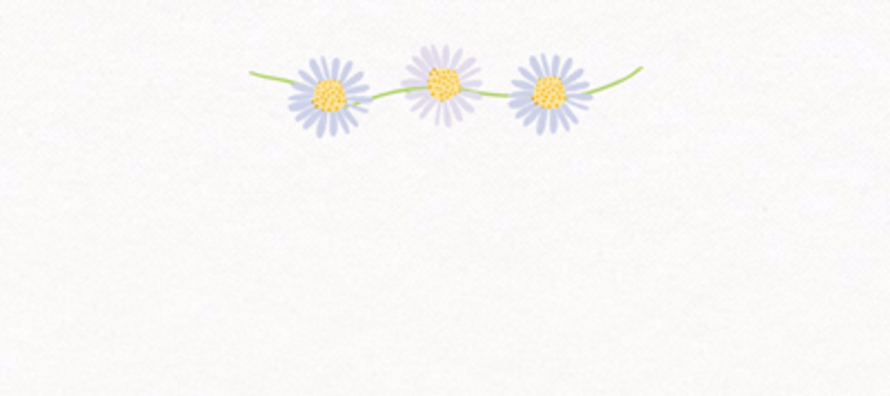 Daisy Chain | Personalised Place Name