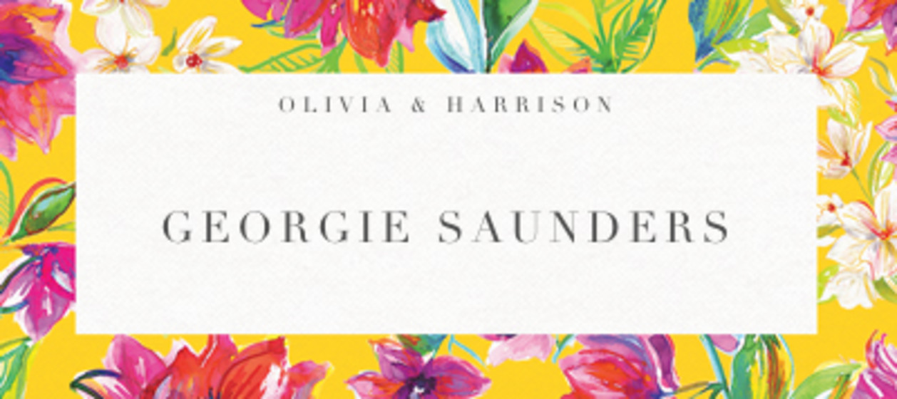 Bougainvillea Bloom | Personalised Place Name