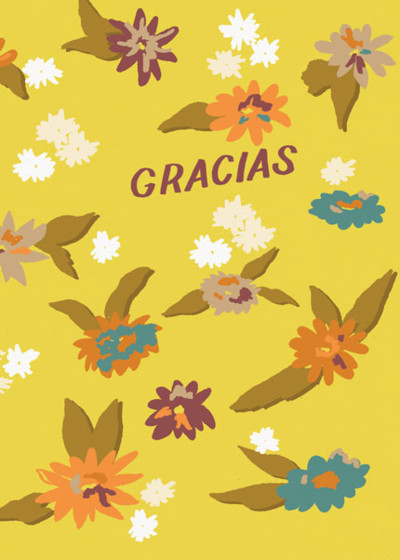 Floral Gracias | Personalised Thank You Card