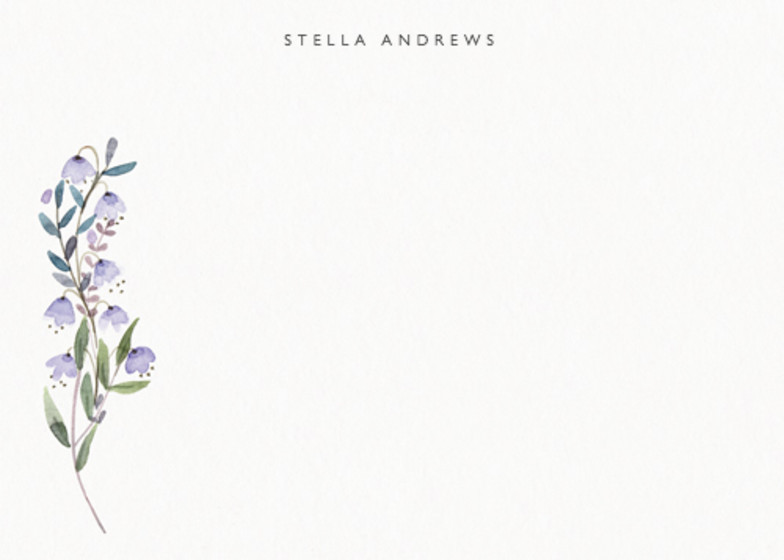 Spring Wildflowers | Personalised Stationery Set