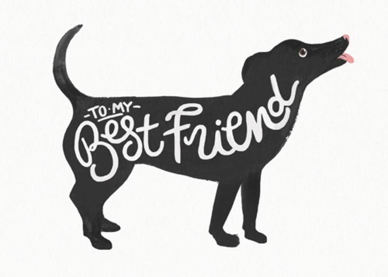 Best Friend  | Personalised Birthday Card
