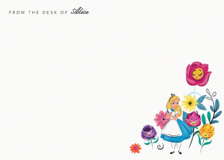 Alice In Wonderland | Personalised Stationery Set