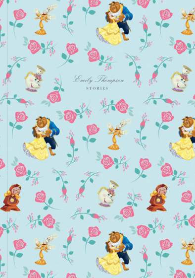 Beauty & The Beast | Personalised Lined Notebook