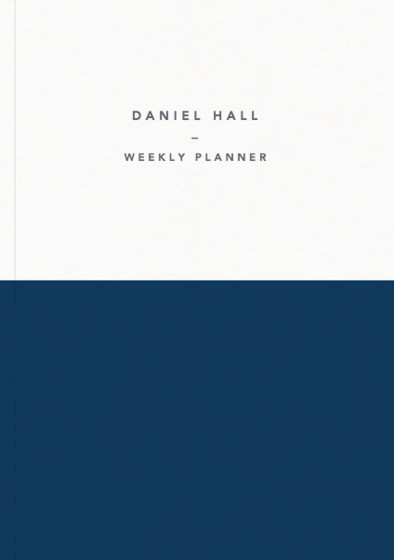 Demi Navy | Personalised Planner