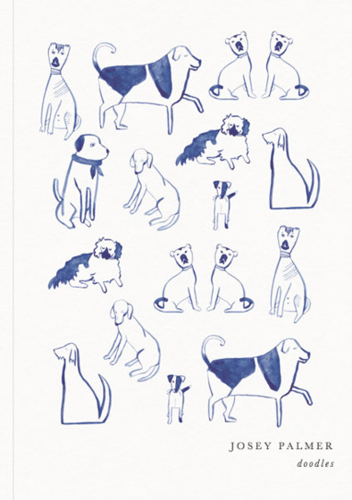 Posh Dogs | Personalised Dotted Notebook