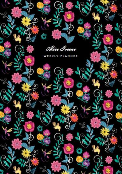 Alice's Flowers | Personalised Planner