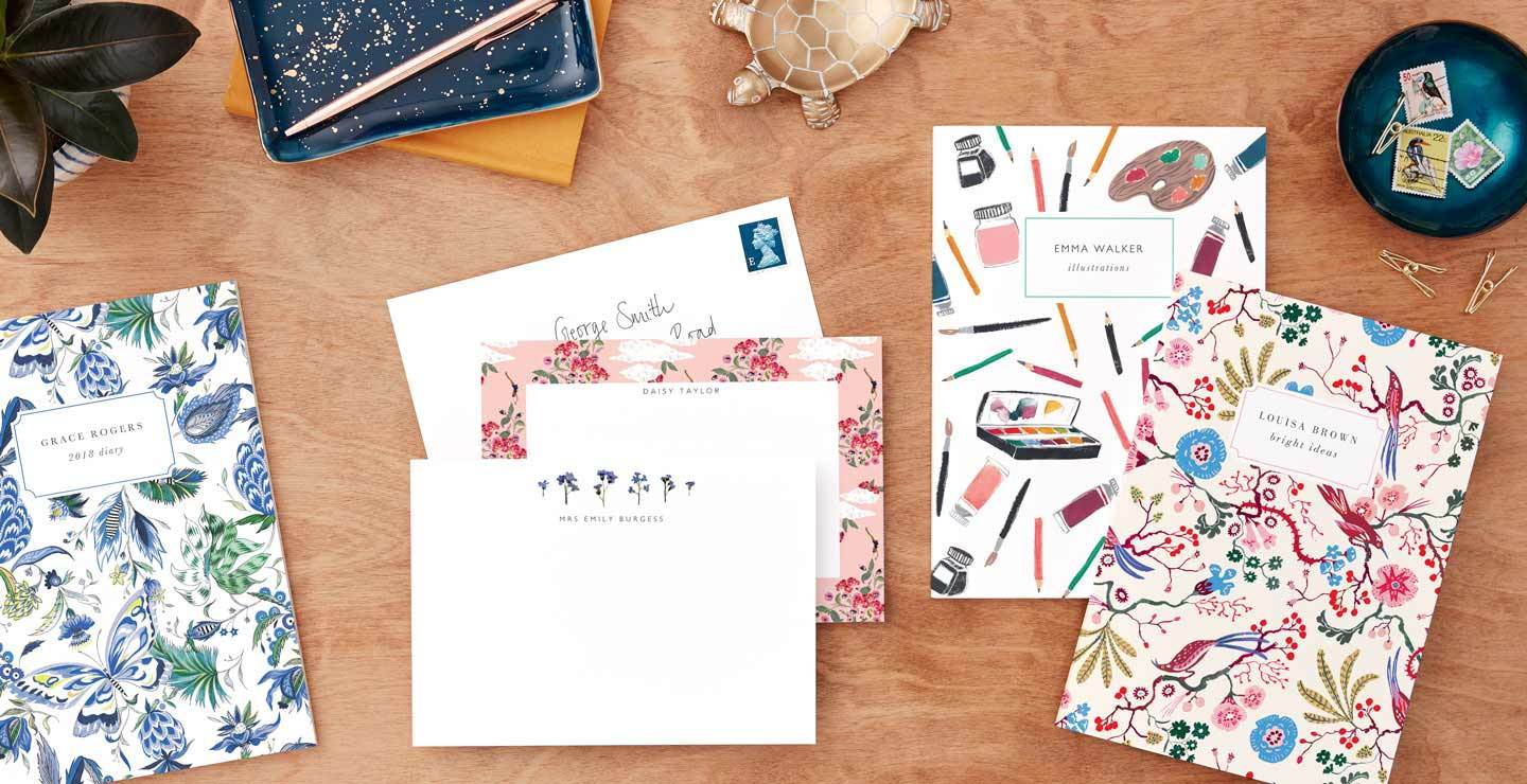 Stationery made personal