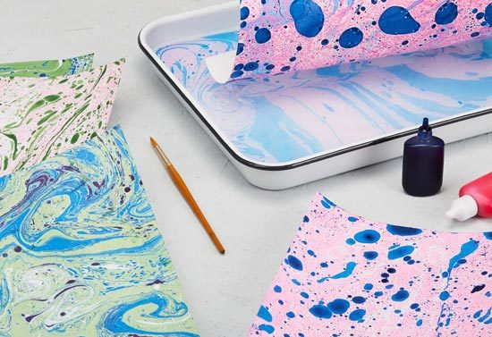 How To Do Paper Marbling