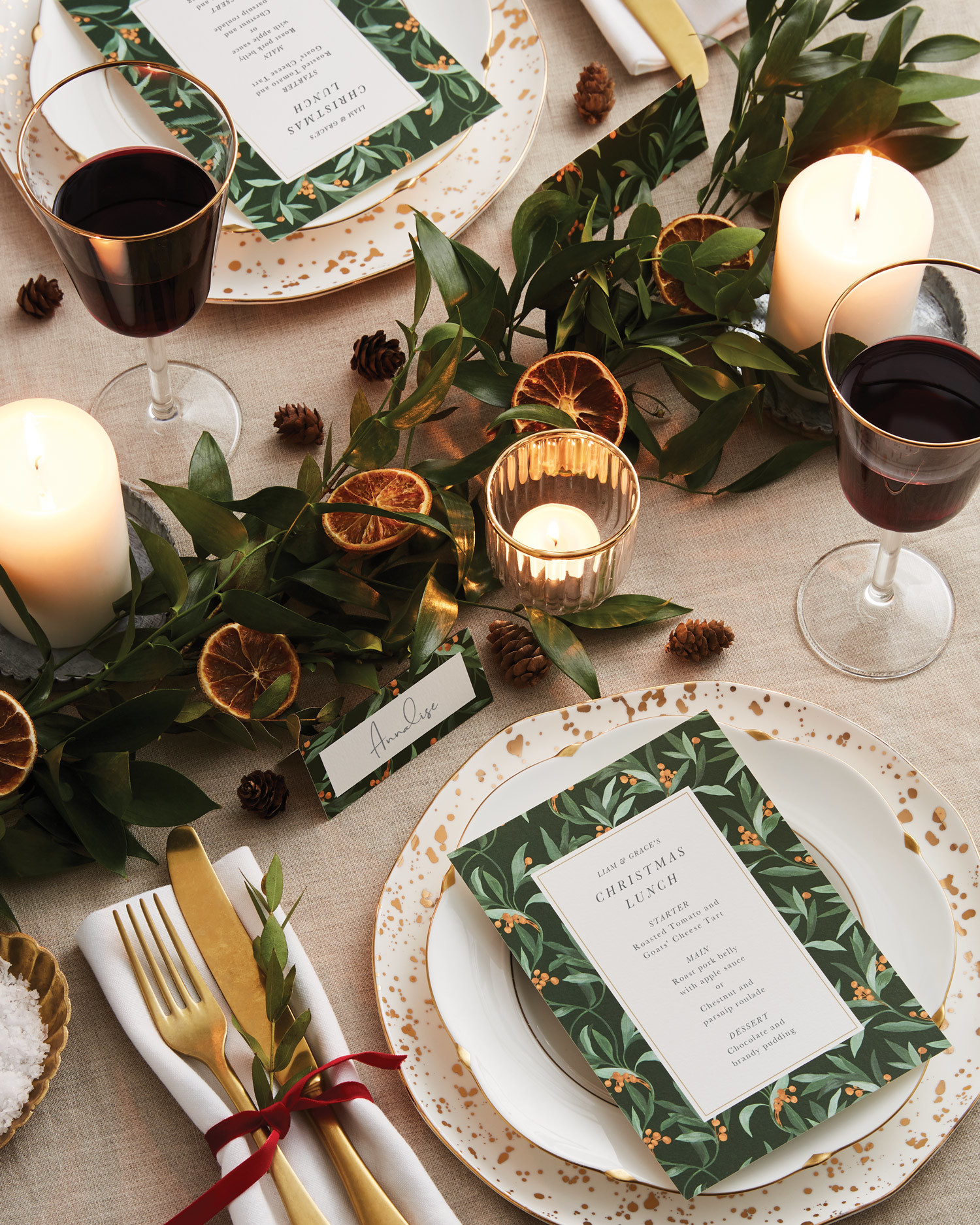 Christmas Table Settings Ideas Pictures.Fun Festive Table Setting Ideas Papier