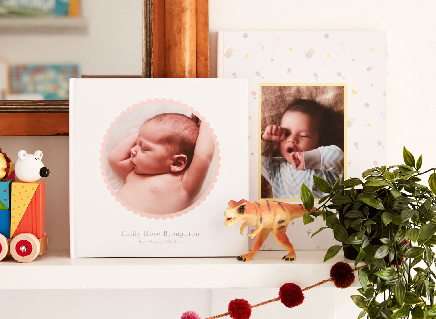 Papier Personalised Baby Photo Book