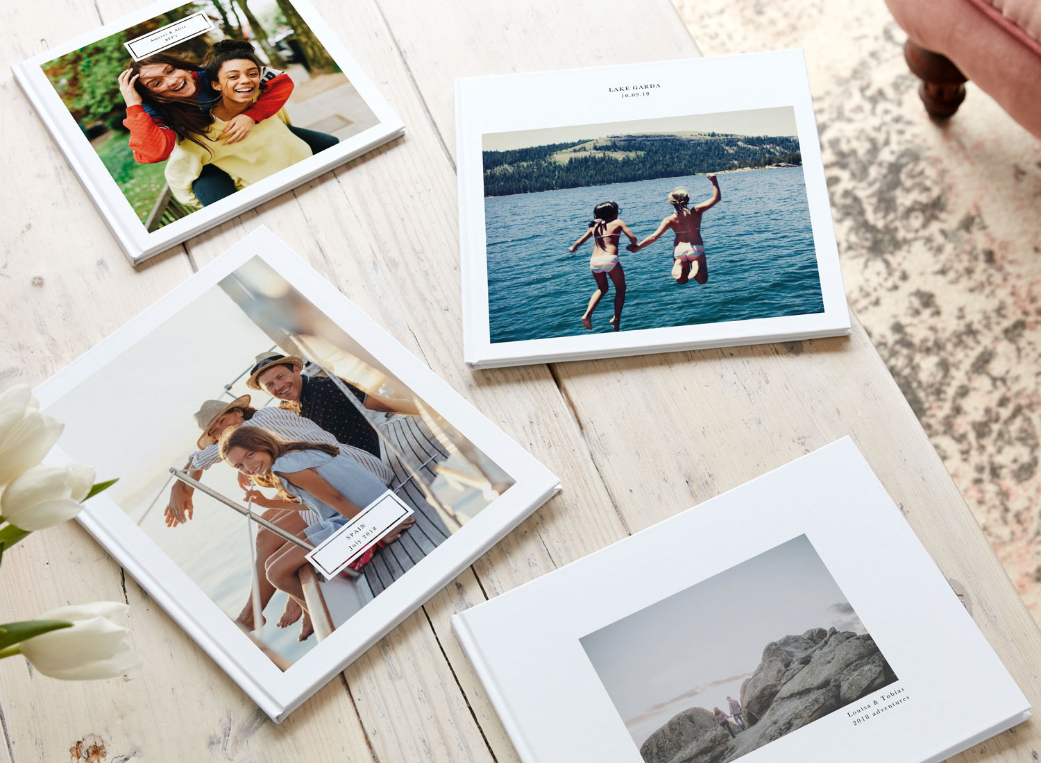 Papier Personalised Holiday Photo Book