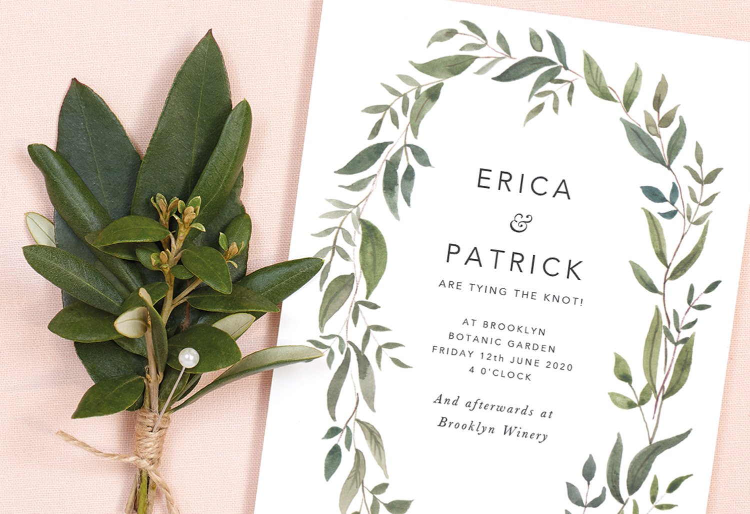 no named hosts wedding invitation wording