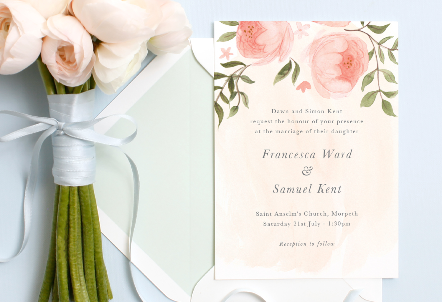 bride's parents hosting wedding invitation wording