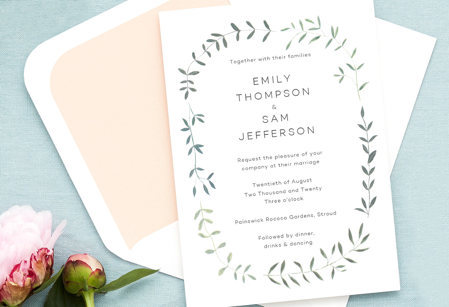both families hosting wedding invitation wording