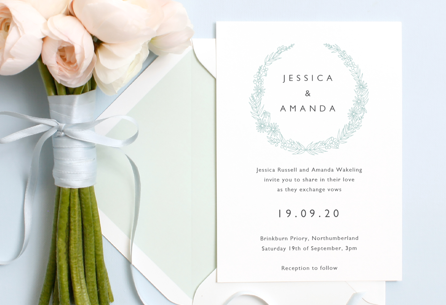 same sex wedding invitation wording