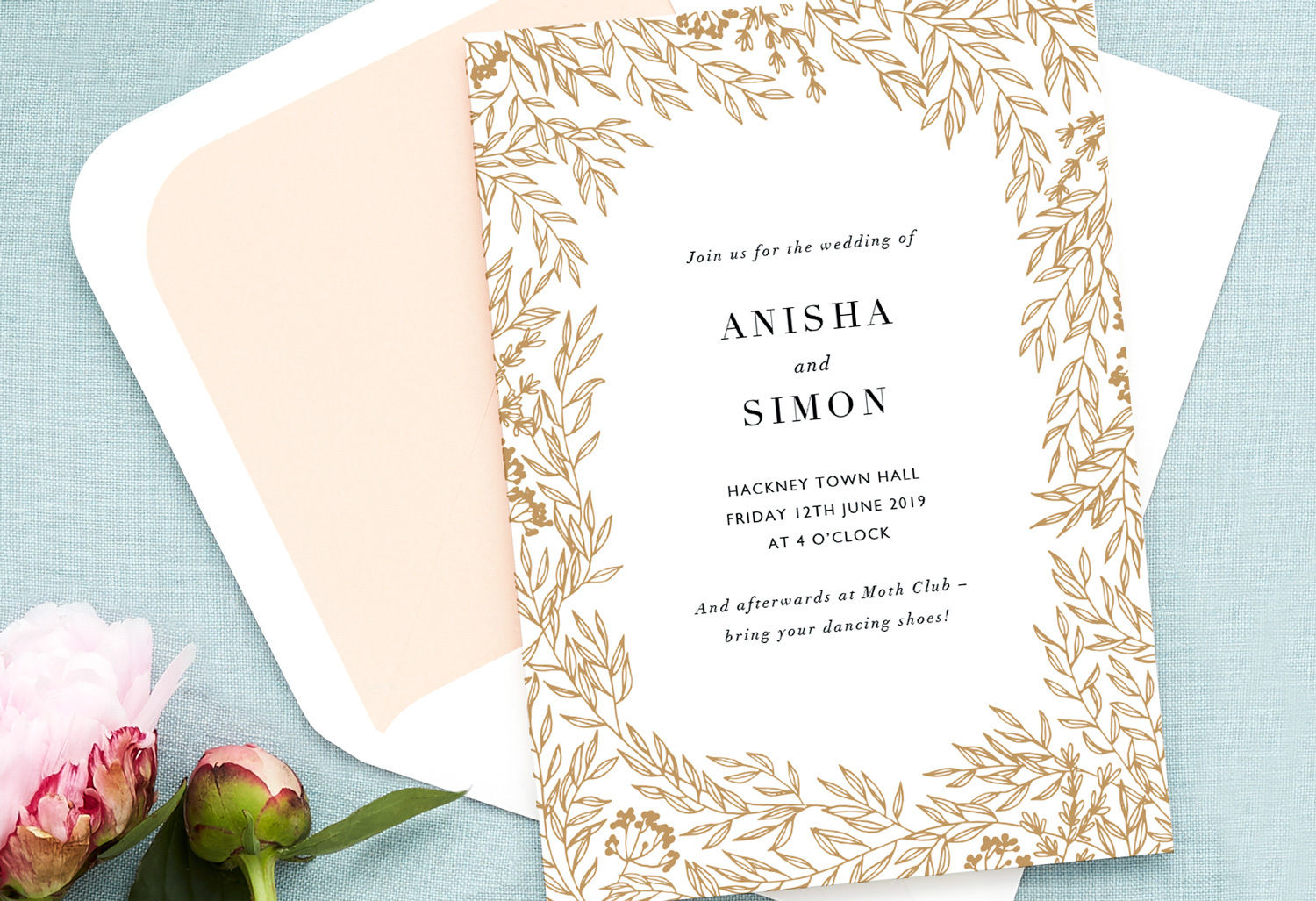 two venues wedding invitation wording