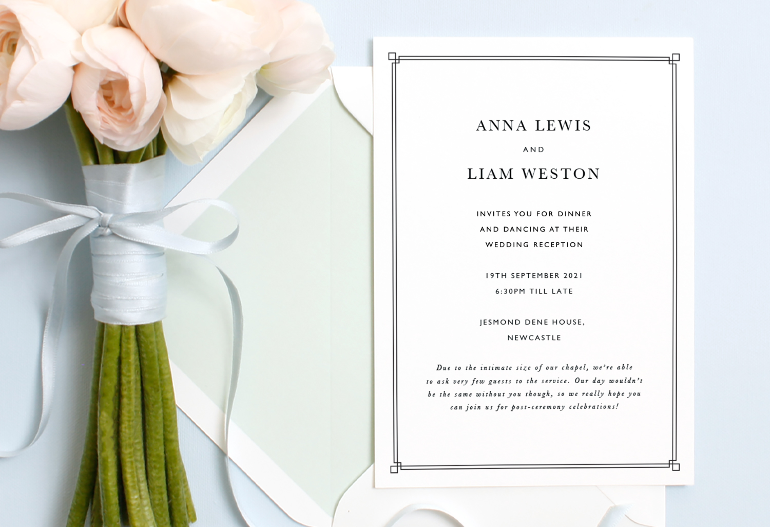 reception only wedding invitation wording