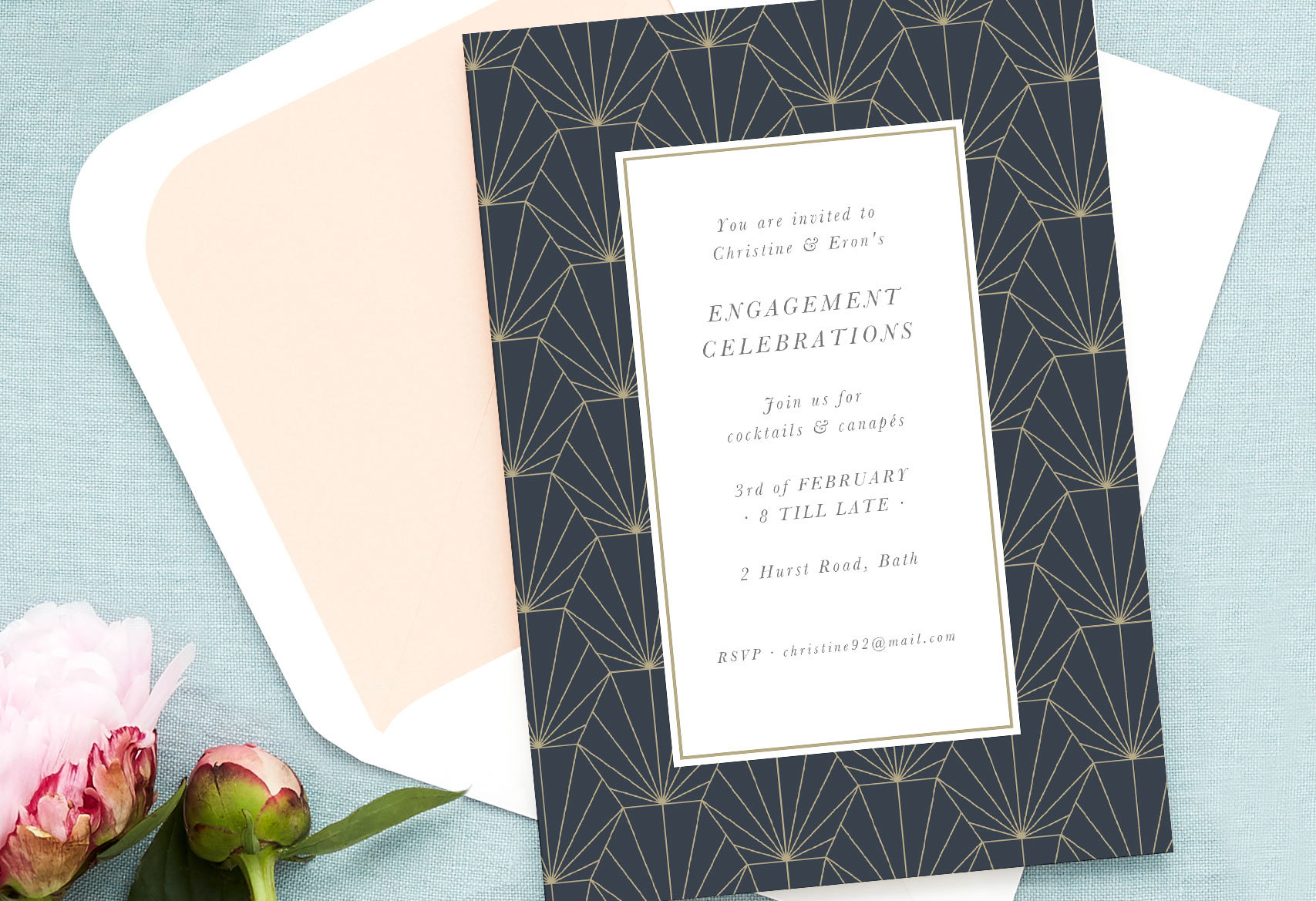 engagement celebration invitation wording