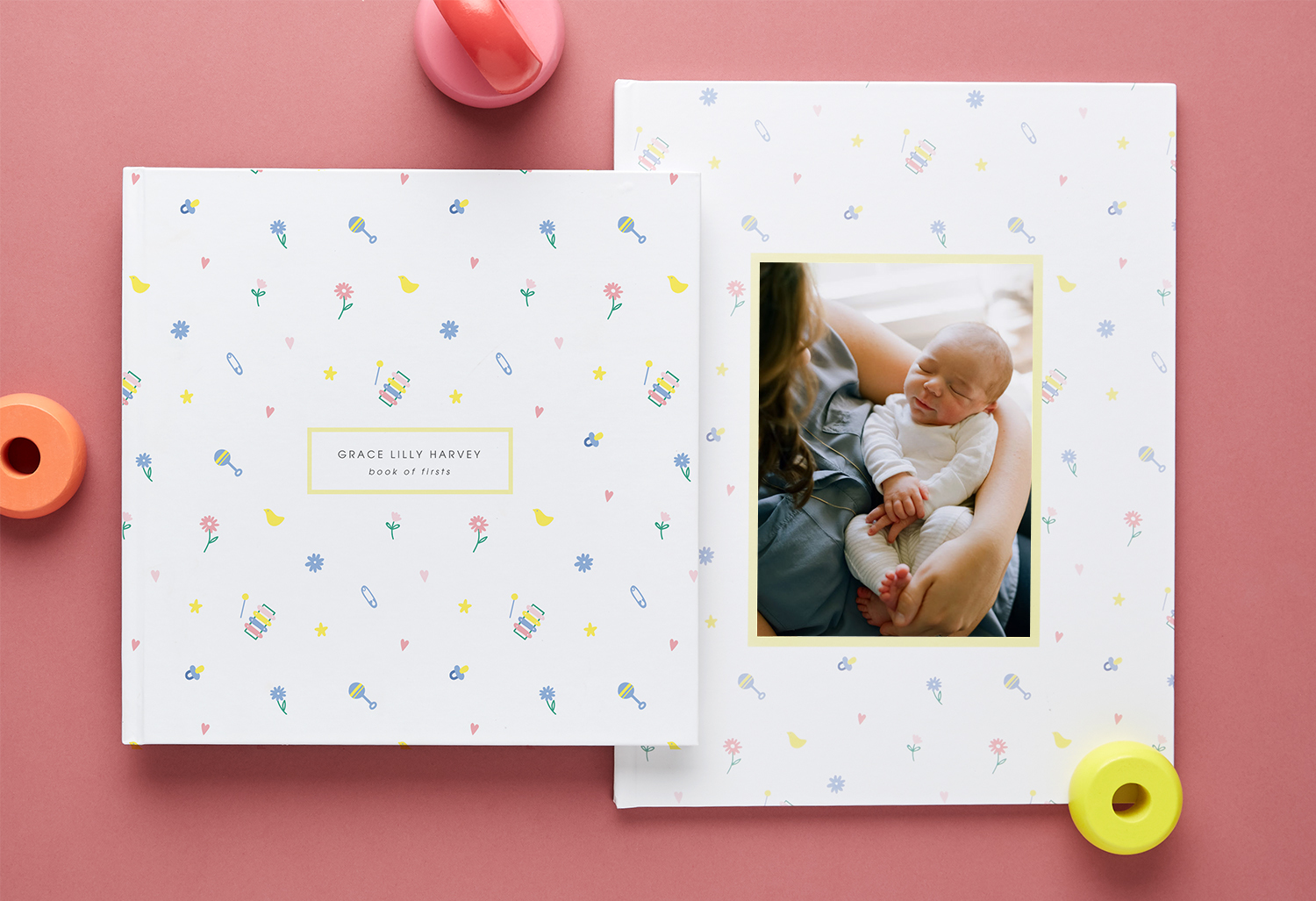 baby photo book ideas - a book of firsts