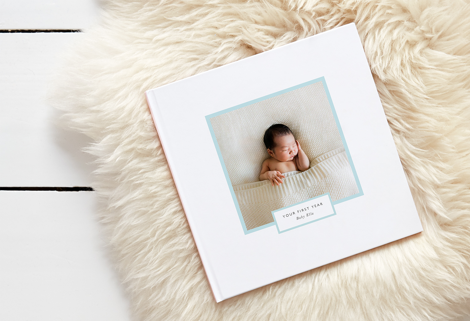 baby photo book ideas - diary style