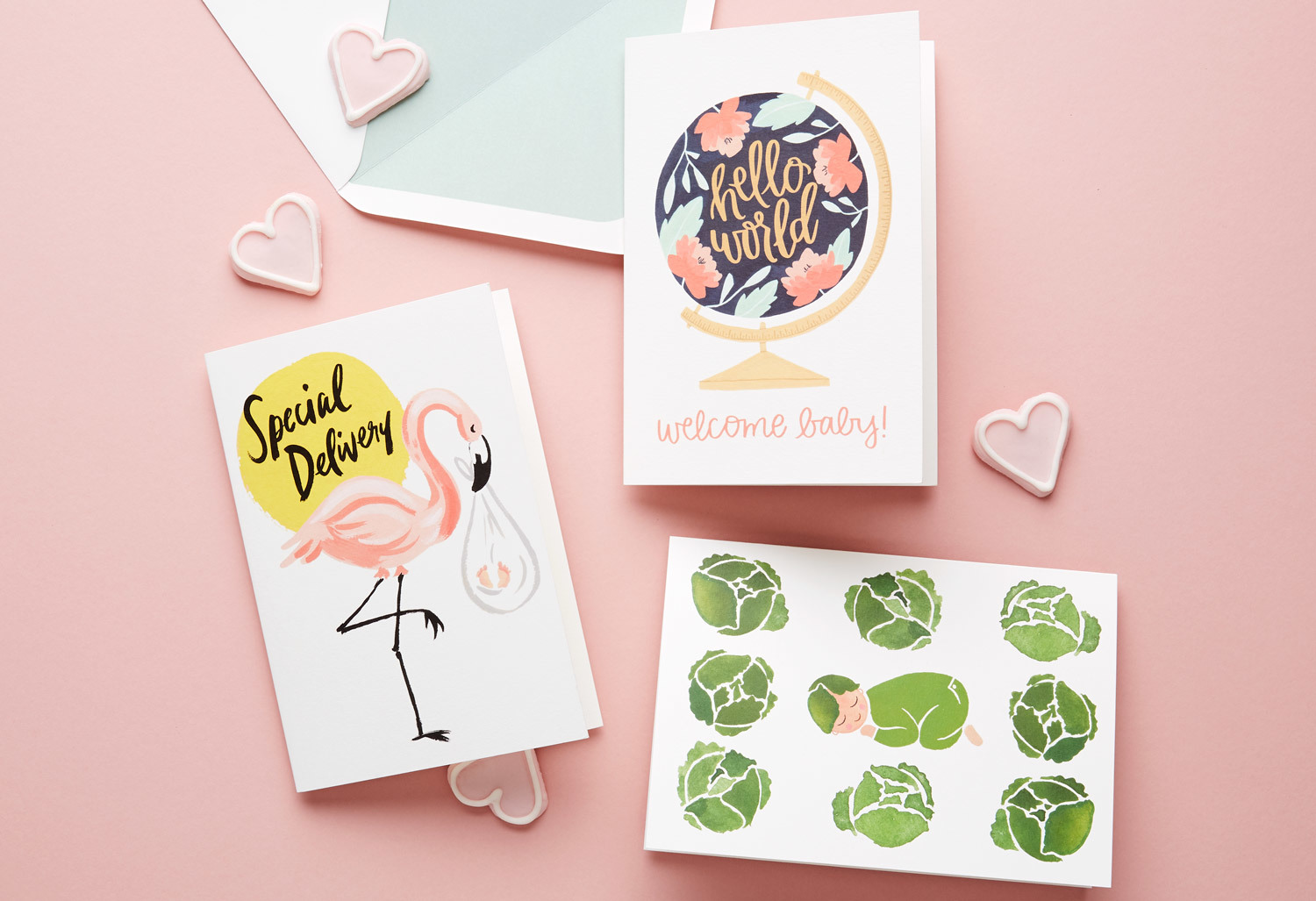 what to write in a new baby card